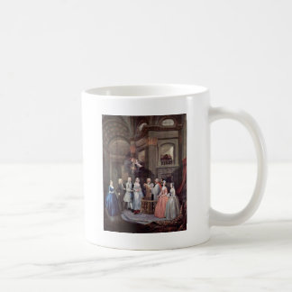 The Wedding Of Stephen Beckingham And Mary Cox By Classic White Coffee Mug