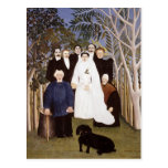 The Wedding Party by Henri Rousseau Post Card