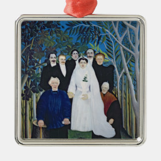 The wedding party, c.1905 metal ornament