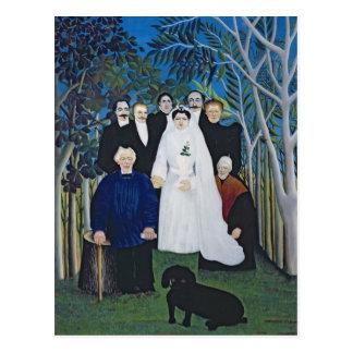 The wedding party, c.1905 postcard