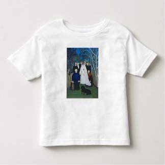 The wedding party, c.1905 toddler t-shirt
