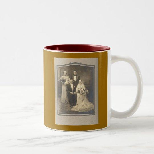 The Wedding Party Two-Tone Coffee Mug