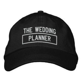 The Wedding Planner Headline Embroidery Embroidered Baseball Hat