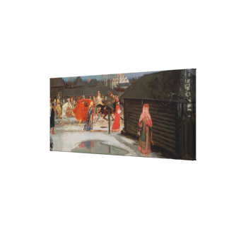 The Wedding Procession Canvas Print