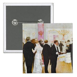 The Wedding Reception, c.1900 Pin