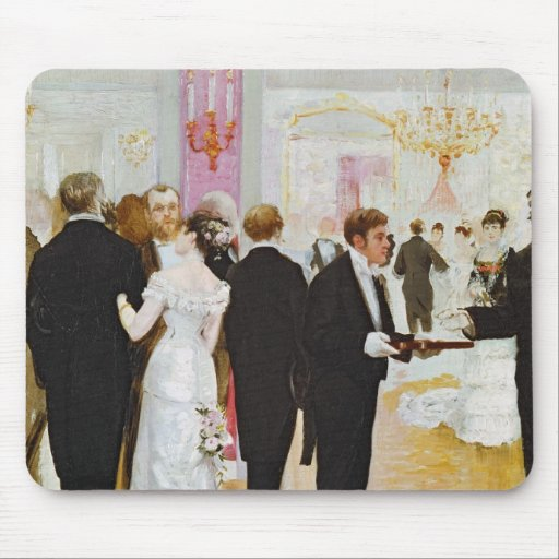 The Wedding Reception, c.1900 Mouse Pad