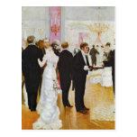 The Wedding Reception, c.1900 Postcard