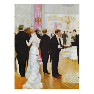 The Wedding Reception, c.1900 Postcard