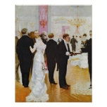 The Wedding Reception, c.1900 Poster