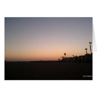 The Wedge Newport Beach California Card