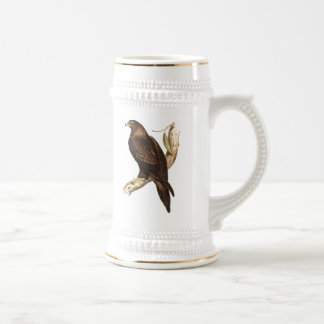 The Wedge Tailed Eagle. A Magnificent Bird of Prey Beer Stein