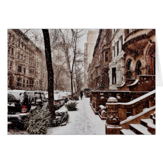 The Week After Christmas On The Upper West Side Card