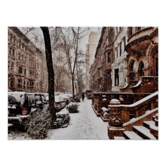 The Week After Christmas On The Upper West Side Poster