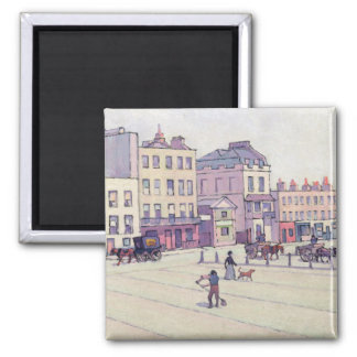 The Weigh House, Cumberland Market, c.1914 (oil on 2 Inch Square Magnet