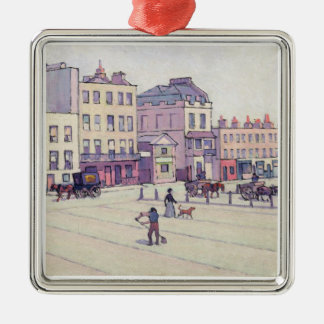 The Weigh House, Cumberland Market, c.1914 (oil on Metal Ornament