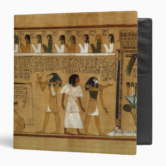 The Weighing of the Heart against Maat's Feather 3 Ring Binder