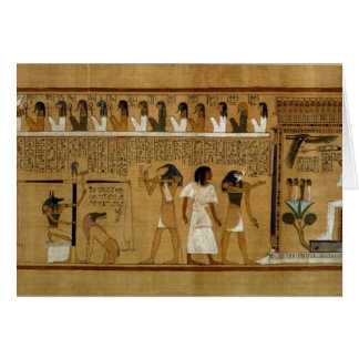 The Weighing of the Heart against Maat's Feather Card