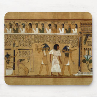 The Weighing of the Heart against Maat's Feather Mouse Pad