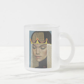 The Weight of the World Frosted Glass Coffee Mug