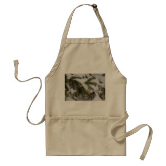 The Weight Of Winter Adult Apron