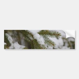 The Weight Of Winter Car Bumper Sticker