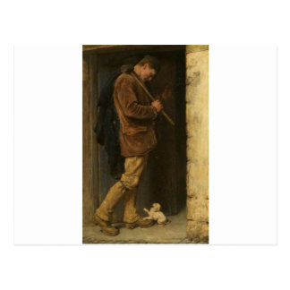 The Welcome by Briton Riviere Postcard