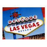 """The """"Welcome to Fabulous Las Vegas"""" sign Postcard"""
