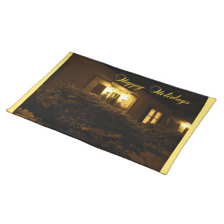 The Welcoming Warmth of Home Cloth Place Mat