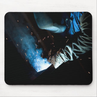 The Welder Mouse Pad