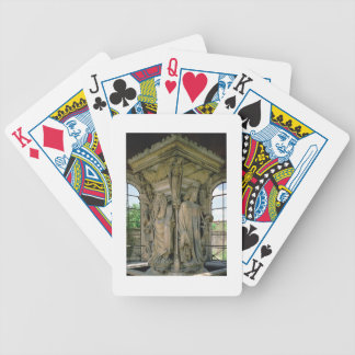 The Well of Moses, David and Moses, 1395-1404 (sto Bicycle Playing Cards