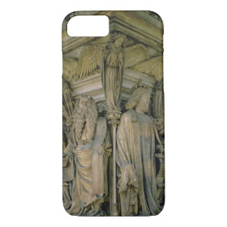 The Well of Moses, David and Moses, 1395-1404 (sto iPhone 7 Case