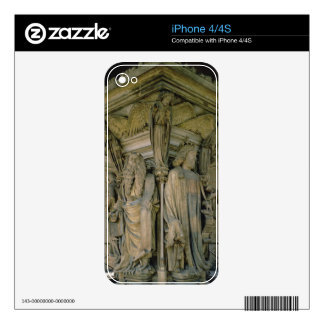 The Well of Moses David and Moses 1395-1404 sto iPhone 4 Skin