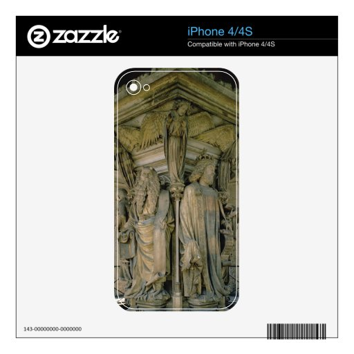 The Well of Moses, David and Moses, 1395-1404 (sto iPhone 4 Skin