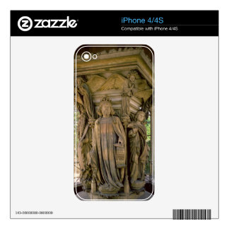 The Well of Moses David and other prophets 1395- Decal For iPhone 4