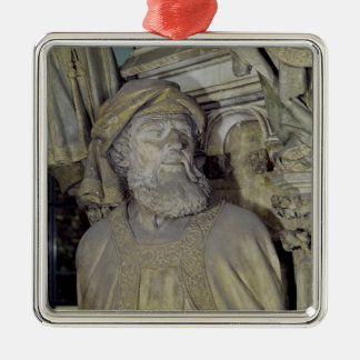 The Well of Moses Metal Ornament