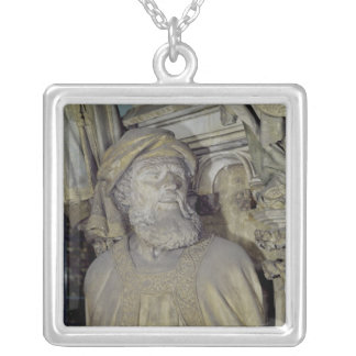 The Well of Moses Silver Plated Necklace