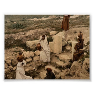 The well of the samaritan (Shechem), Napulus, Holy Posters