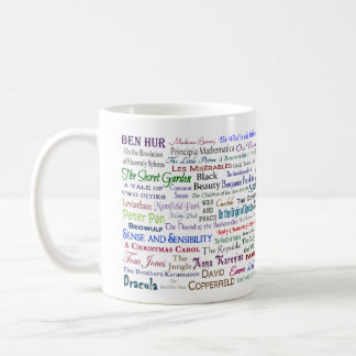 The Well Read Mug - Books you should read or know