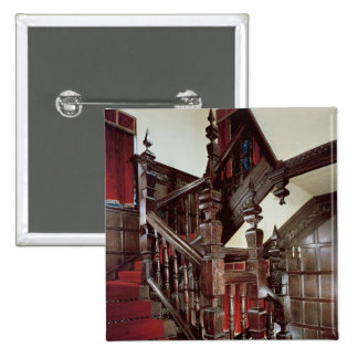 The Well staircase, c.1600 2 Inch Square Button
