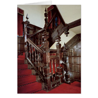 The Well staircase, c.1600 Greeting Card