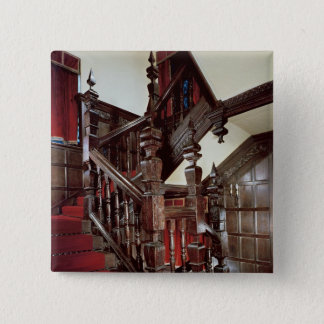 The Well staircase, c.1600 Pinback Button