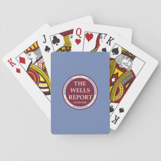 The Wells Report Deck of Cards