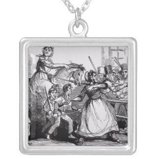 The Welsh Rioters Silver Plated Necklace