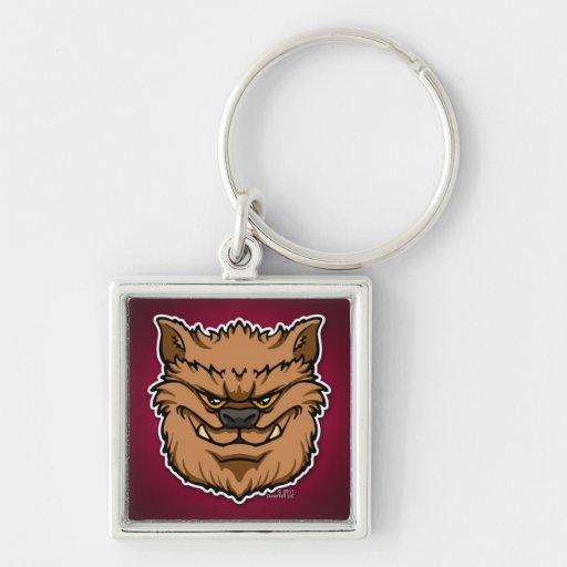 The Werewolf (Brown) Keychain