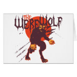 The Werewolf: Lycan Greeting Card
