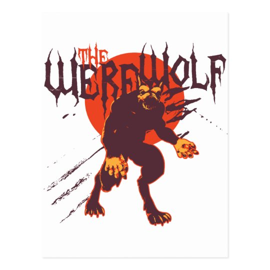 The Werewolf: Lycan Postcard