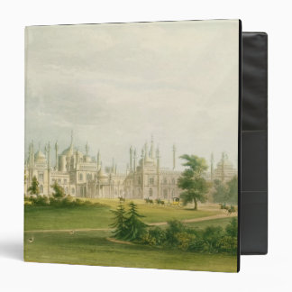 The West Front, from 'Views of the Royal Pavilion, Binder