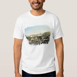 The West Front of the Parthenon, plate 19 from Par T-Shirt