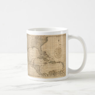 The West Indies Map by John Cary (1783) Coffee Mug