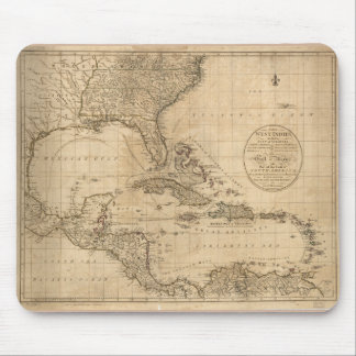 The West Indies Map by John Cary (1783) Mouse Pad